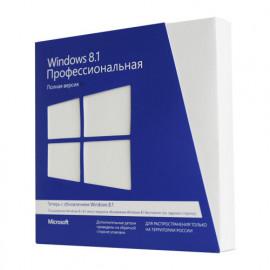 Microsoft Windows 8.1 Профессиональная (Professional) RU 32-bit/64-bit