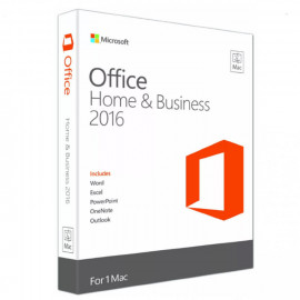 Microsoft Office 2016 Home and Business Mac 32/64 bit