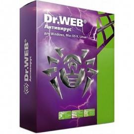 Dr.Web - Антивирус для 2 ПК на 1 год
