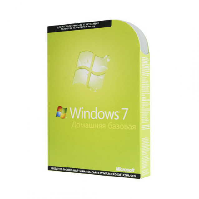 Microsoft Windows 7 Home Basic RU 32-bit/64-bit