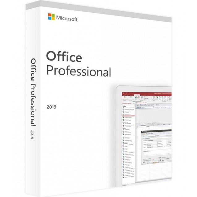 Microsoft Office 2019 Professional 32/64 bit