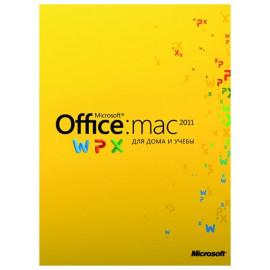 Microsoft Office 2011 Home and Student Mac 3 ПК