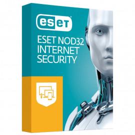 ESET NOD32 Internet Security - универсальная лицензия на 1 год на 3ПК или продление на 20 месяцев