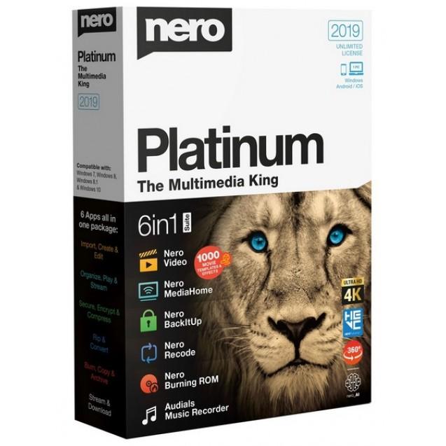 Nero Suite - Электронные версии